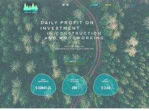 Woodlife - редизайн парта: +8% в день на 15 суток (120%), депозит включен