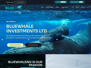 Bluewhale Investment Ltd - 11% на 11 дней, депо включен, + Страховка $300