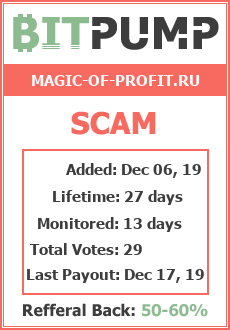 Monitored by BitPump.ru