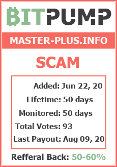 Monitored by BitPump.ru